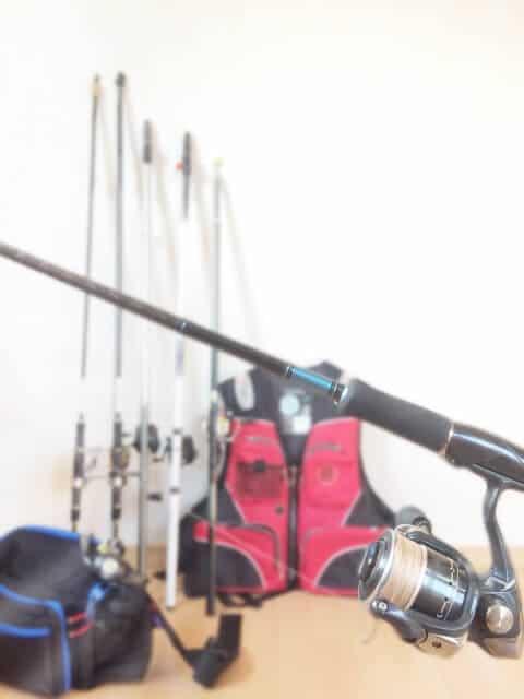 使わなくなった釣り具