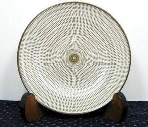 福岡県伝統工芸品 小石原焼 【蔵人窯】皿飛びかんな