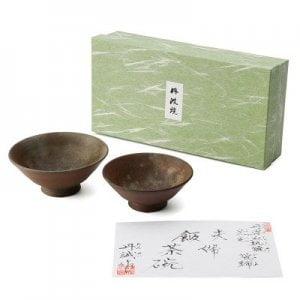 夫婦飯茶碗 | 丹波焼窯元丹誠窯・兵庫県