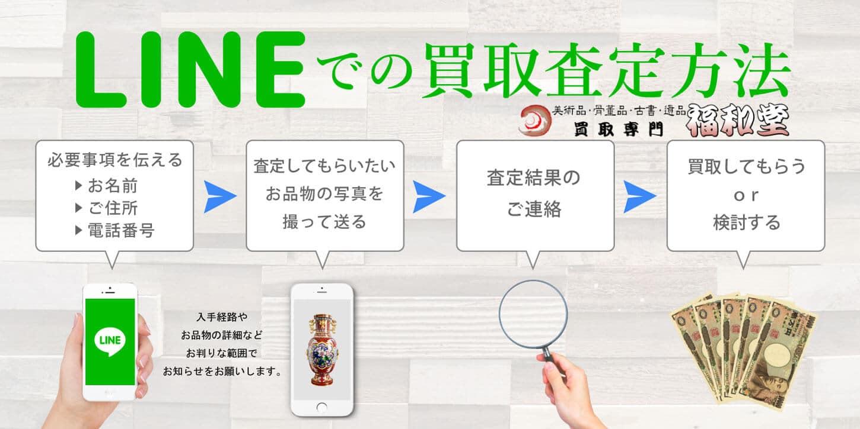 LINE買取方法